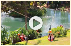 Watch the action at Maui Zipline Company